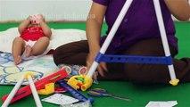 mainan bayi lucu baby play gym - unboxing baby toys