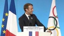 """JO 2024 à Paris : """"Vous avez fait taire les grincheux"""", lâche Macron"""
