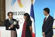 Discours lors de la réception des JO #Paris2024