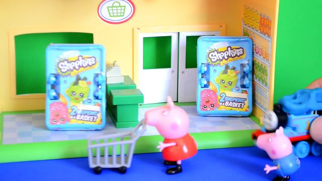 Peppa Pig Episode Shopkins Thomas And Friends Goes shopping Peppa pig Full story