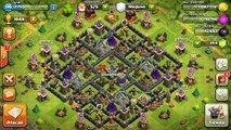 Ayuntamiento 9 FARMING | DISEÑO DE ALDEAS #4 | Jugando Clash of Clans