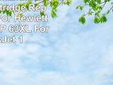 Generic Remanufactured Ink Cartridge Replacement For Hewlett Packard HP 63XL For DeskJet