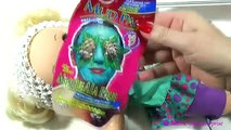 BABY ALIVE Doll at Beauty Salon - Video for Girls Kids - How to Apply a Facial Mask on Dolls
