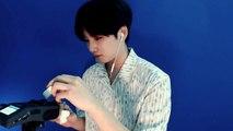 [Korean ASMR] 퍼프로 톡톡,귀 자극하며 수다 makeup sponge ASMR 윙잇 #34