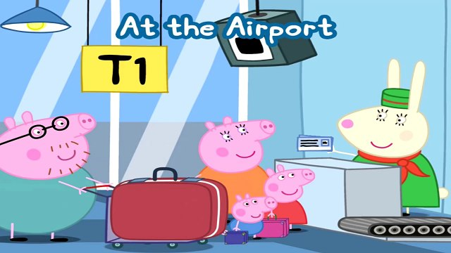 Peppa Pig at the Airport | Peppa Pig Games for kids | Peppa Pigs Holiday App Gameplay For Kids