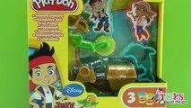 Play-Doh Jake y los Piratas Tesoros Piratas Treasure Creations - Juguetes de Play-Doh