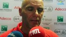 "Coupe Davis 2017 - BEL-AUS - Johan Van Herck : ""La Belgique est capable de !"""
