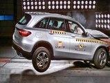 Euro NCAP Crash Test of Mercedes Benz GLC 2015-modelinin çarpışma testleri