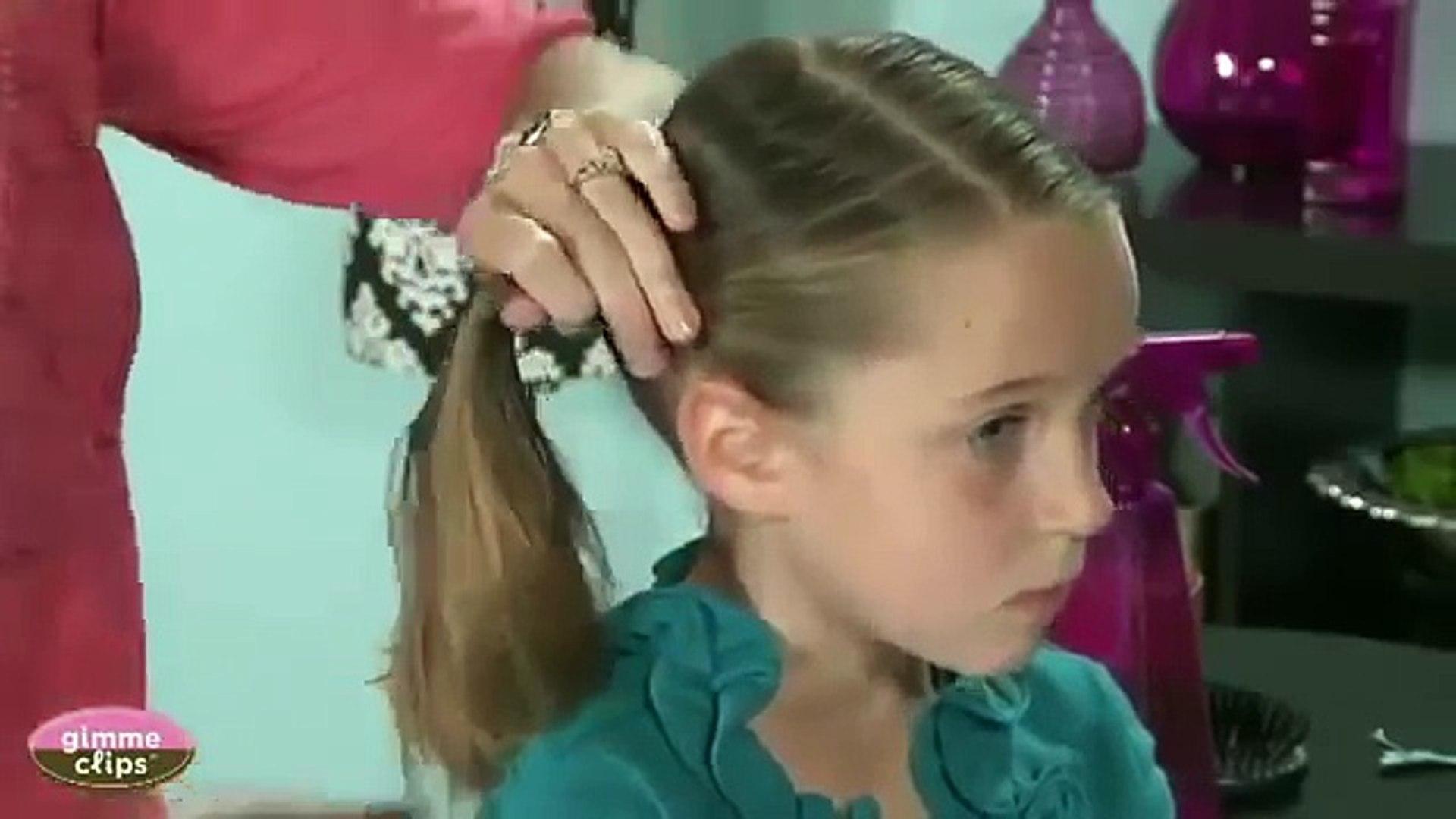 أسهل تسريحات شعر للأطفال والفتيات