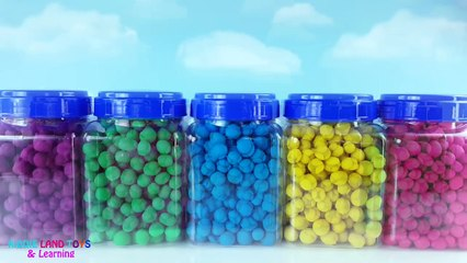 Learn Colors Teen Titans Playdoh Dippin Dots Toy Surprises Best Learning Colors Video for Kids