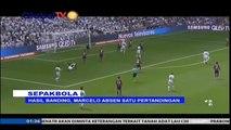 Hasil Banding, Marcelo Absen Satu Pertandingan