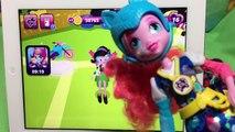 Newest Update Equestria Girls App My Little Pony Friendship Games MLP Scan Roller Skate Pinkie Pie!