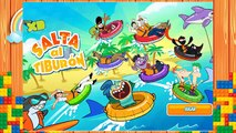Disney XD Juegos, Juegos Disney Channel, Salta al Tiburon, juego Phineas y Ferb