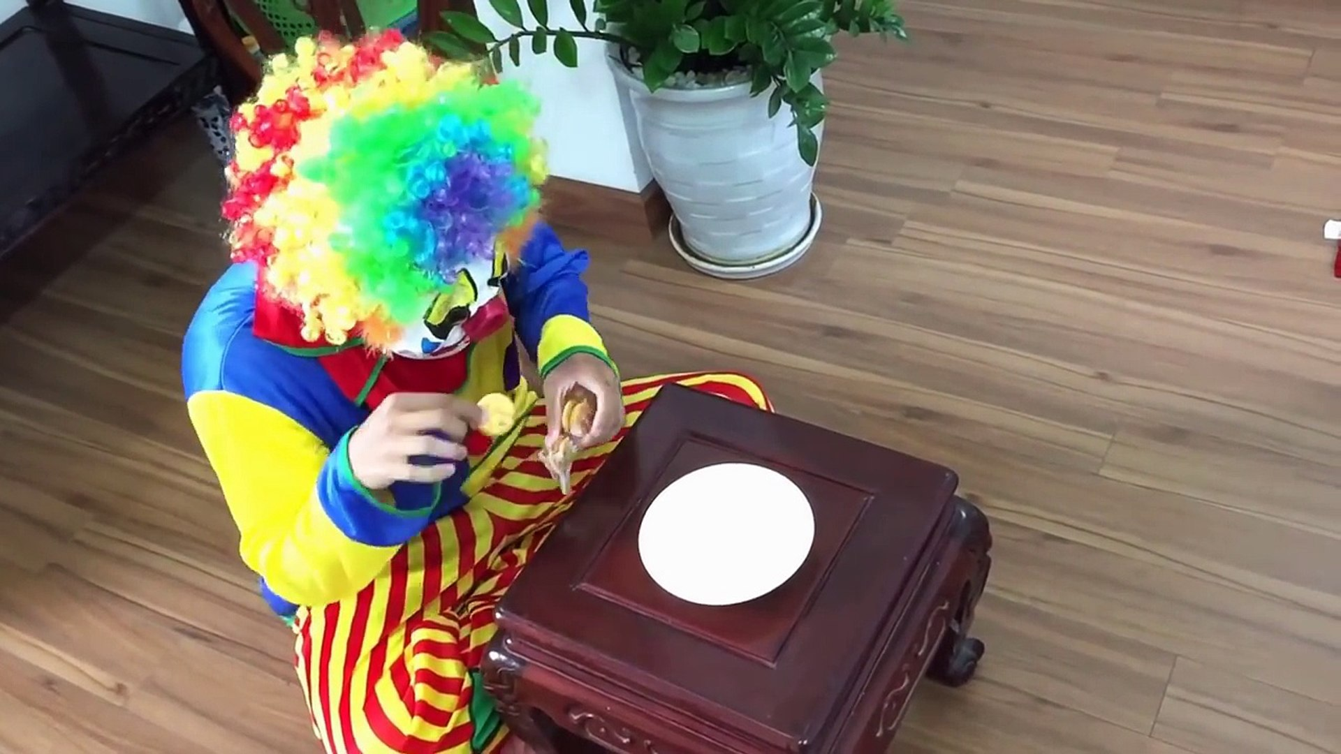 SPIDERMAN vs Evil Clown have a stomachache by Evil Clowns Cookies Superheroes In Real Life