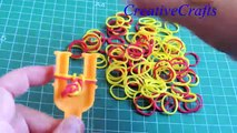 Escroquerie avec métier à tisser arc en ciel comment faire un bracelet Espagne balle bouton Fermer