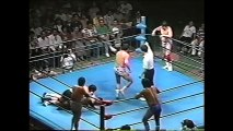 Masa Fuchi/Mighty Inoue/Haruka Eigen vs Jumbo Tsuruta/Masao Inoue/Mitsuo Momota (All Japan July 22nd, 1995)