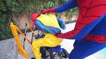 RAINBOW DRINKS PYRAMID CHALLENGE! w/ Spiderman Hulk Joker & Fun Movie Coca Cola Pepsi in Real Life