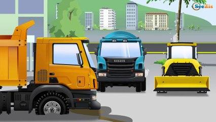 El Pequeño Camión - Un accidente - Nuevo Carritos para niños - Carros animados