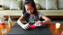 BOOWHOWOO Sanat DIY - DIY Renk Kinetik Kum, Ay Kum, Hareketli Kum, Sihirli Kum nasıl yapılır