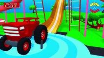 Et des voitures dessin animé ciment pour enfants table de mixage un camion camions Chantier de chantier |