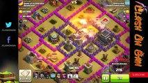 Armées attaque choc de de stratégie sommet guerres Clans townhall 8 |