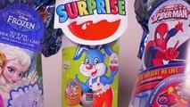 [OEUF] Chasse aux oeufs de Pâques Kinder, Frozen et Spiderman - Unboxing easter eggs
