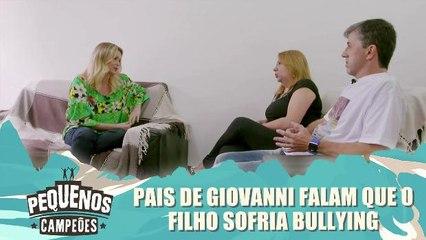 Pais de Giovanni falam sobre bullying que filho sofria
