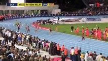 Et athlétisme boulon dans relais seconde victoires 2017/02/09 usain asafa powell 4x100m nitro hd