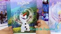 Disney FROZEN Libros de La Pelicula Frozen Libro de Olaf |Libros Para Niños|Juguetes de Frozen
