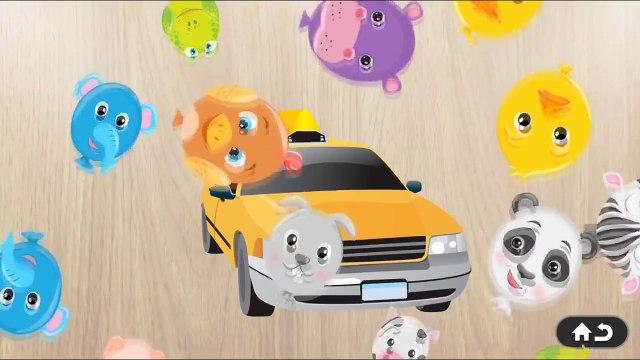 Car Games for Kids Car & Vehicles Puzzle Cartoon
