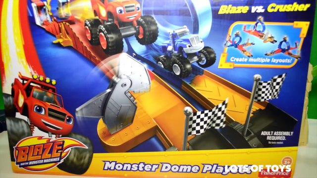 Blaze and the Monster Machines Monster Dome Race Blaze Vs. Crusher, Disney Cars, Dusty