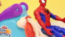 Peut peut têtes de héros ponton fer homme merveille jouer super-héros jouet vidéos Doh Smashdown Avengers