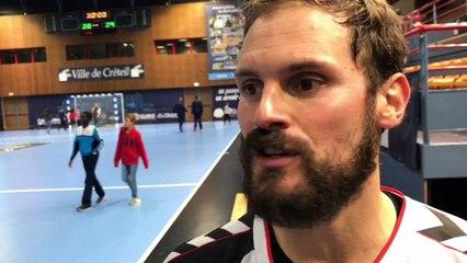Adrian Rosales Pousada après Créteil/Caen 28-29