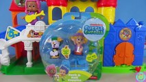 Bubble Guppies Deema & Bubble Puppy Rock & Roll Guppies with Molly and the Disney Castle Playset