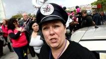 Les femmes de policiers crient leur colère à Paris