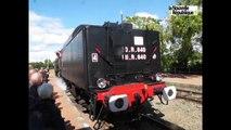 Une locomotive à vapeur fête ses 70 ans à Loches