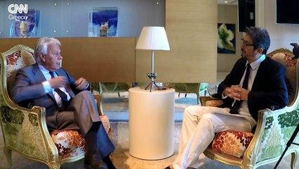 Felipe Gonzalez , entrevista en CNN Greece, en espagnol