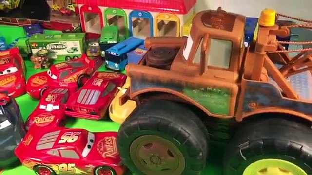 Disney cars 3 toys max tow mater monster truck with chain Giant mater crush lightning mcqueen