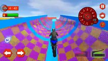 EXTREME BIKE STUNTS MANIA GAME New Bike Games For Kids | Motor Cycle Games - Motor Bike Boys Games