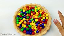 Sorting Gumball Candy Pie Best Learning Video for Kids Babies Toddlers Toys Learn Colors Preschool