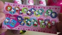 Opening 9 Hello Kitty surprise eggs! ハローキティ Sanrio Hello Kitty HD. // Surprise TV