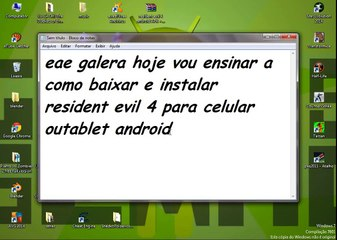 como instalar resident evil 4 android grátis APK + DATA