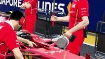 Singapore Marina Bay Street Circuit, Formula One F1, Grand Prix Singapour Vettel September 17th 2017