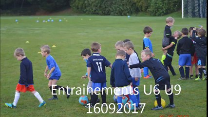 U6 - U9 Entraînements - 16092017