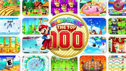 Mario Party : The Top 100 : Trailer d'Annonce