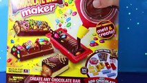 CHOCOLATE CANDY BAR MAKER Toy Oreo Cookies M&Ms Sweet Treats Family Kids Fun Hersheys Choc