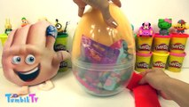 Emoji Filmi Gene Sürpriz Yumurta Oyun Hamuru - Emoji Oyuncakları LOL bebek