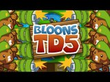 BTD5 Bloons Tower Defense 5 Walkthrough - Easy Mode - Rounds