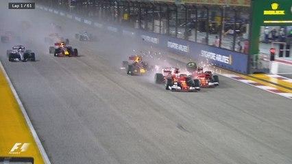 Grand Prix de Singapour - Le départ incroyable !