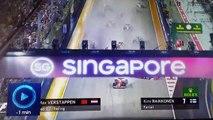 Formule 1 : l'énorme carambolage au départ du Grand Prix de Singapour